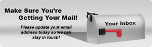 update your email address